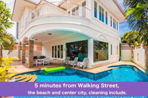 Walkingstreet Tewaree villa 4 bedrooms